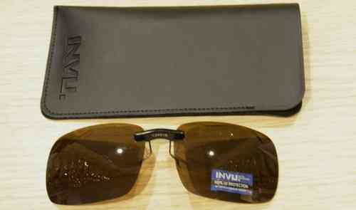 50aac3760dc Sunglasses Addizional Polarized INVU C 2401 B BROWN