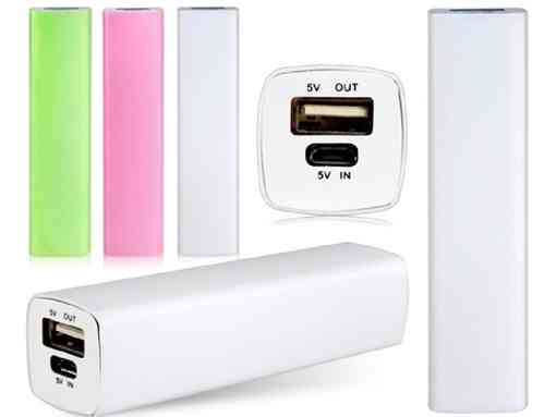 POWER BANK 2800 mAh SMARTPHONE SAMSUNG NOKIA BIANCO