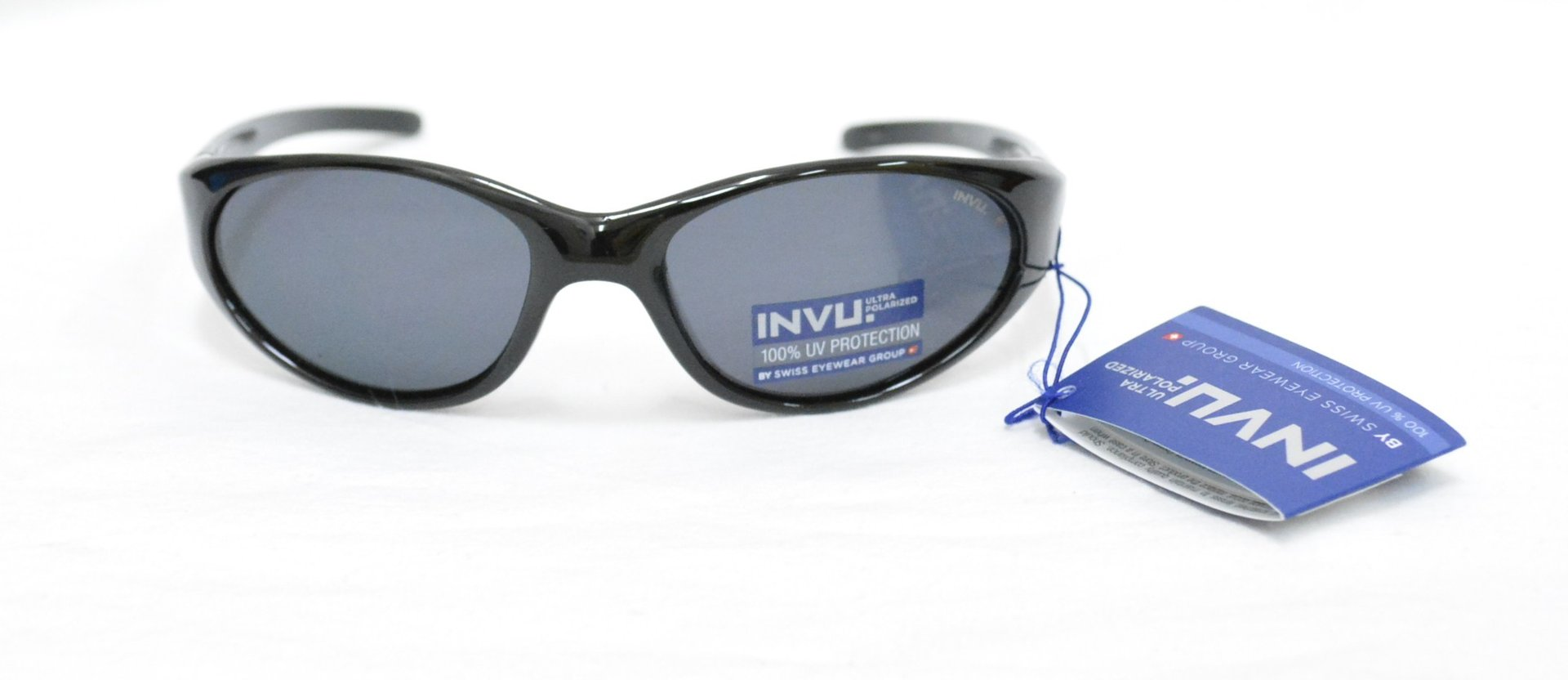 7d5445c7992 Sunglasses INVU K 2408 A BLACK LENSES POLARIZED - OTTICA TRAINA Eyewear Invu  ...