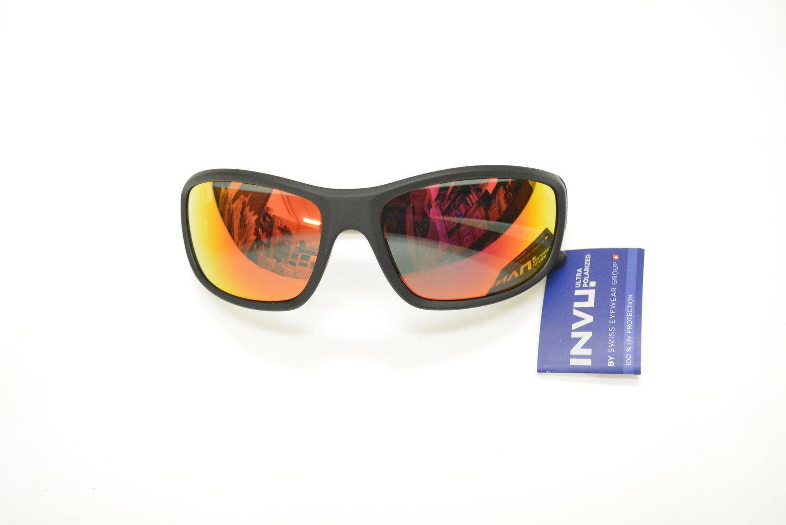 bca8ed0334 Sunglasses INVU A 2501 F BLACK RUBBER POLARIZED OTTICA TRAINA